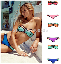 2015 high quality  Bikini  Swimwear  sexy style sexy color women swimsuit