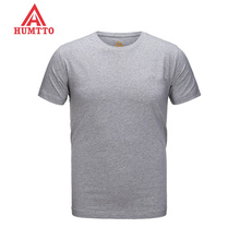 HUMTTO Quick Dry Outdoor T shirt Men Coolmax T-Shirt Summer Short Sleeve T-Shirt Sport Running Hiking