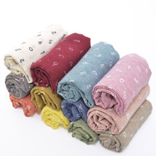 2016 Children's Autumn Winter Warm Scarf New Style Designer Kids Number Baby Scarf Cotton Long Scarves and Shawls