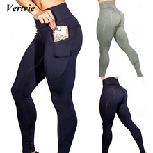 Buy 2018 Hot Yoga Pants Phone Pocket Women Camo Sport Leggings Push Fitness Clothing Running Pants High Waist Gym Trousers for $2.80 in AliExpress store