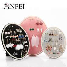 ANFEI New Pearl Jewelry Display 3 Colors For Pendant/Necklace Neck Bust Display Stand For Jewelry Counter Showcase Expositor