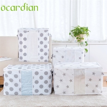 Ocardian garment bag HOT selling  Foldable Storage Clothes Blanket Quilt Closet Sweater Organizer Box Pouches*30 GIFT 2017