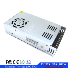 Small Volume Switching power supply 12V 33A 400W Driver For LED Light Strip Display 110v 220v AC DC12V SMPS Factory Supplier