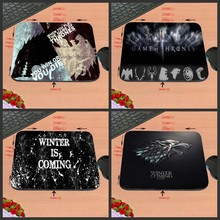Hot Sell  New Arrival Winter is Coming Game Of Thrones Silicon Anti-slip Mousepad Computer Mouse Pad Mat