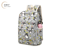 Top Anime Tonari no Totoro Cartoon backpack Shoulders schoolbag school Totoro Printing cute bag