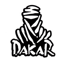 16.6*19CM DAKAR Funny Car Styling Decoration Accessories Personalized Car Stickers Decals C1-4006