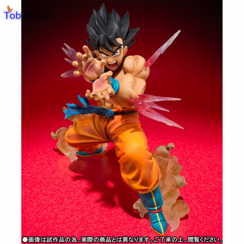 Tobyfancy Dragon Ball Z Figuras Zero Son Goku Kaiouken Anime Dragon Ball Toy DBZ Dragon Ball Z Action Figures(China (Mainland))