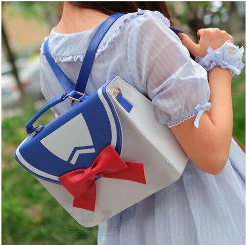 Sailor Moon Bag Sailor Hot Fashion Style Suit Anime Luna Moon Cartoon Bow Cute Design  Girls Lolita Handbag Messenger Bag<br><br>Aliexpress