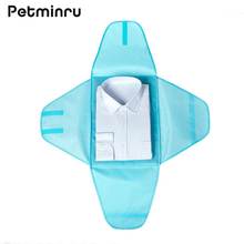 Petminru Portable Fold Travel Packing Cubes Oxford Shirt Clothes Anti wrinkle Storage Bag Luggage Travel Package Organizers