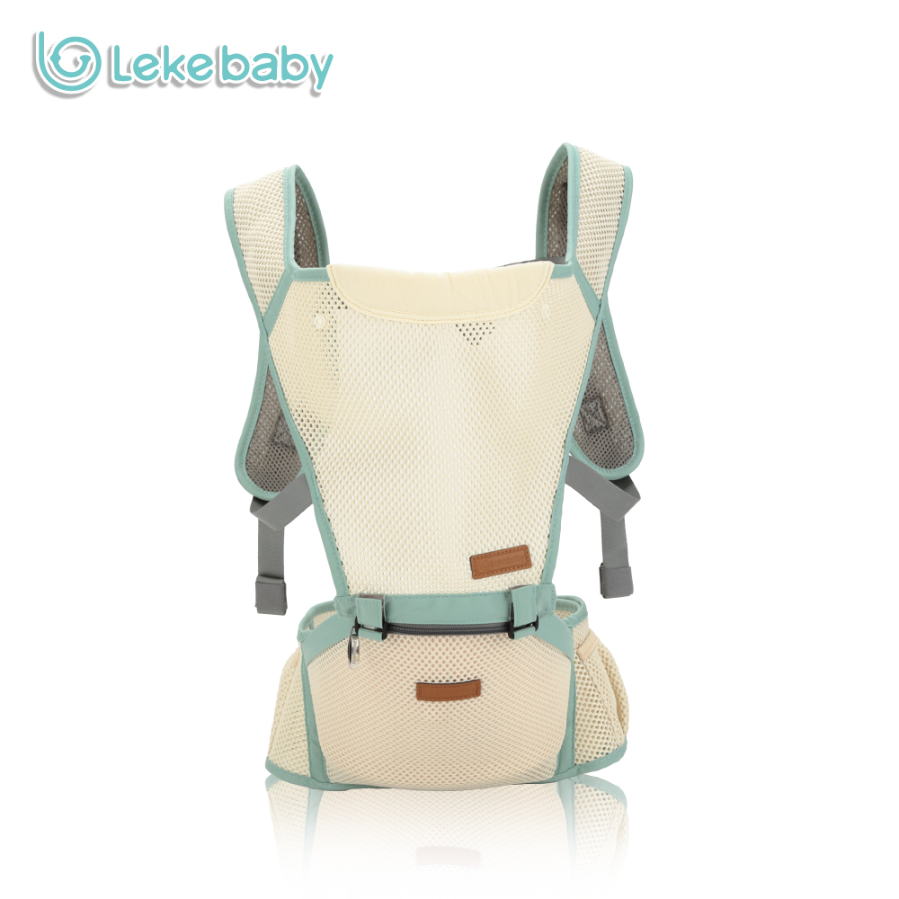 Lekebaby 360 Breathable Ergonomic Baby Carrier Hipseat Multifuction Baby Backpack Sling<br>