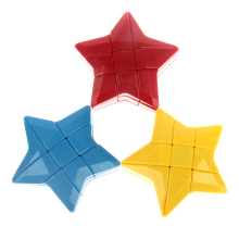 YongJun YJ Pentagon Puzzle Cube 3 Color Strange-shape Magic Cubo ABS Educational Toys Kid Christmas Gift Pentagram Pentacle Cube