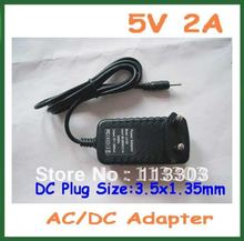 10pcs 5V 2A 3.5x1.35mm Charger Power Supply Adapter for Cube iWork11 stylus Ainol Novo 7 Aurora II ELF II Tablet