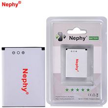 New Original Nephy Battery BST-37 For Sony Ericsson W800i W810i k600 K610i D750i K200i K220i T280i V600 K750C W710C W700C 900mAh(China)