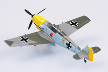 EASY MODEL scale model 37283 1/72 scale aircraft  BF-109E 1-JG26  assembled model finished model do not need to assemble