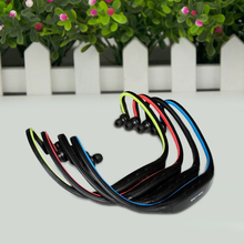 1pc USB Sport Running MP3 Music Player Headset Headphone Earphone TF Slot Newest And Wholesale