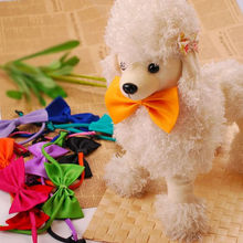 Trendy Mini Popular Pet Dog Bow Tie Puppy Neck Acccessory Bright Colour Collar