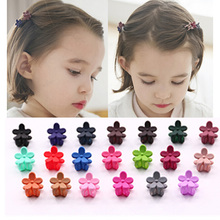 10pcs 2017 New Kids Novelty Floral Flowers Barrette Children Hairpins Hair Accessories For Girls Baby Clip Claws Hairclip(China)