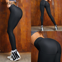 Buy NORMOV Push Leggings Women High Waist Patchwork Legging Femme Sportwear Skinny Fitness Classic Trousers Female 2 Color for $9.98 in AliExpress store