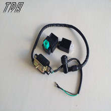 TDR Ignition Coil CDI Regulator Rectifier For 50 70 90 110 125 cc Chinese ATV Quad Complete Electrics Regulators