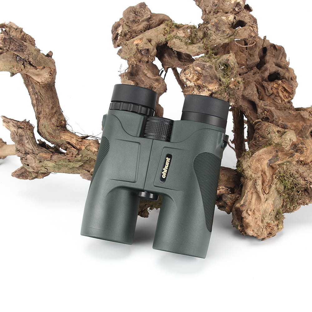 KANDAR Military 12X42 HD Telescope Wide-angle Power Zoom Binoculars No Infrared Eyepiece Hunting Scope for Hiking Camping (1)