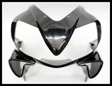 Unpainted Black Upper Front Fairing for 2001-2003 Honda CBR 600 F4i