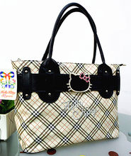 New Women Hello kitty Handbag Shoulder Tote Bag  Purse CC-838BC