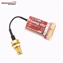 Best Deal ImmersionRC Tramp HV 6-18V 5.8GHz 1mW to>600mW Video Transmitter International Version For RC Toys Models(China)