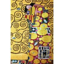 High quality fulfillment Gustav Klimt Oil paintings reproduction the embrace modern art for bedroom Hand painted Luxury gold(China)
