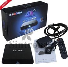 M8S Android TV Box S812 Quad Core CPU + Mali-450 Octa Smart TV Box with 2GB RAM, BUY 1 GET 1 FREE LED Bulb, Locate in UK(China)