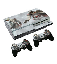 Assassins Creed Skin Sticker Protector for Sony PlayStation 3 PS3 Console and 2 Controllers Cover Decals(China)