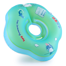 New Baby Neck Ring Inflatable Infant Swim Ring Kids Swimming Pool Accessories Circle Bathing Float Inflatable Raft Neck Rings(China)