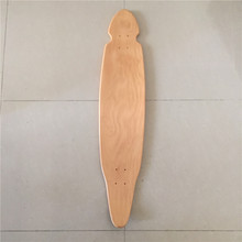 Wholesale OEM Blank Skateboard Deck Maple 41 1/2 Longboard Flat-Plate Deck DIY Patterns Decks 9 layers made by Canadian maples(China)