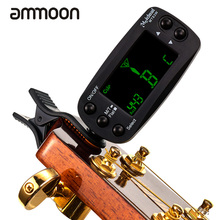MT83W Clip-on Digital Guitar Tuner Metronome with LCD Display for Guitar Bass Violin Viola Cello Mandolin Ukulele Banjo(China)