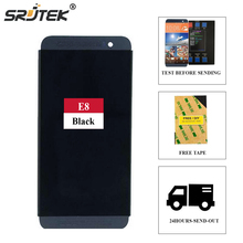 Srjtek screen For HTC One E8 Full LCD Display Touch Digitizer Sensor Glass + Frame Assembly 100% Tested 5.0inch 1920*1080