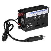 300W Car Power Inverter DC 24V to AC 220V 50Hz with 2 USB Ports / 1 AC Outlet / Voltage Car Cigarette Lighter Phone charger(China)