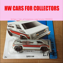 Hot Wheels 1:64 Super Van Car Models Metal Diecast Cars Collection Kids Toys Vehicle For Children Juguetes 37(China)