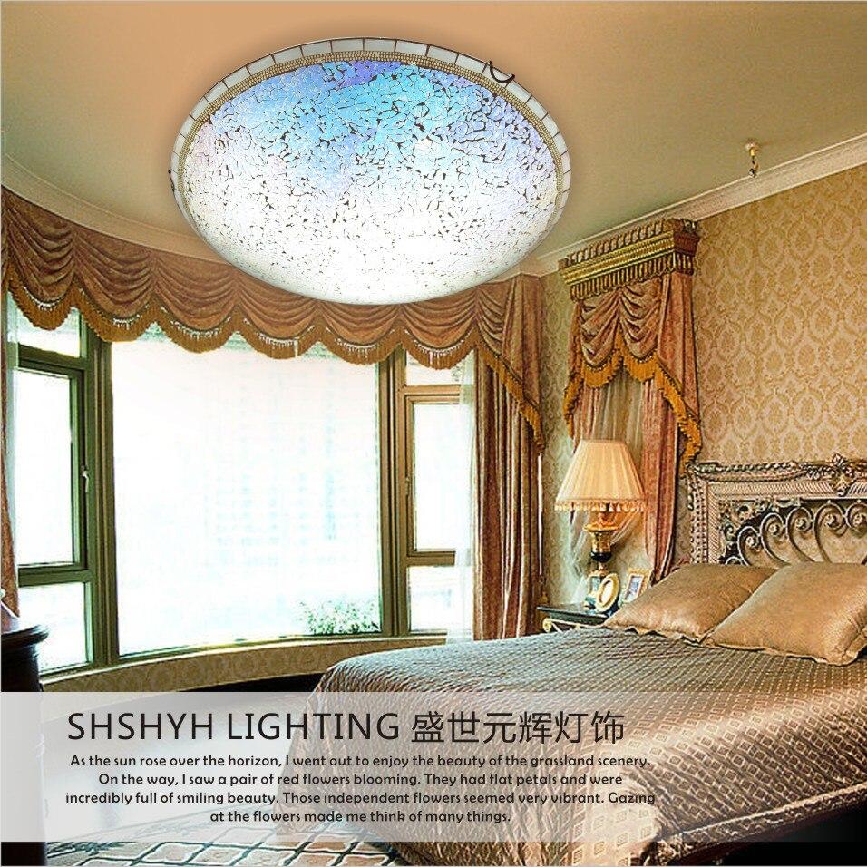 Mediterranean Sea lamp shell lamp European style LED ceiling lamp creative bedroom lamp hallway corridor balcony lighting<br><br>Aliexpress