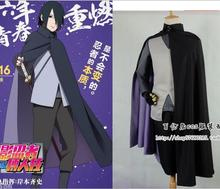 Anime Naruto Ninja Cosplay / Sasuke Uchiha cosplay costume cloak vest shirt pant set