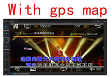 7inch 2 din  Car PC Tablet Universal GPS Navigation Radio Stereo Video Player