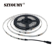 SZYOUMY WS 2811 Led Strip Dream Color 30 LEDs/M DC 12V 5050 IP 65 Waterproof RGB Auto Change Color Flexible Tape Light