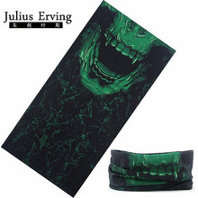 Julius Erving 2017 New Skull Multi Bandana Bike Motorcycle Neck Cooling Bandana Tube Scarf Bandana Paisley Magic Headband Mask