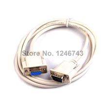 1PCS New 1.5M Serial RS232 9-Pin Male To Female DB9 9-Pin PC Converter Extension Cable(China)