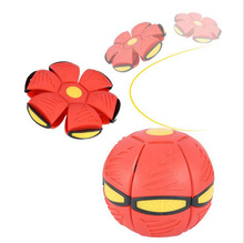 Trample step Stress ball UFO ball vent ball magic UFO frisbee deformation outdoor toys ball children's  Christmas gift