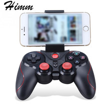 GAME S3 Wireless Bluetooth Game Console Handle Controller Gamepad For IOS Android OS Phone Tablet PC Smart TV With Holder(China)