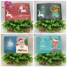 Popular 3d christmas card buy cheap 3d christmas card lots from christmas greeting cards diamond painting full round diamond mosaic sale 3d greeting card diy painting kits 8 pcslot 13x18cm m4hsunfo