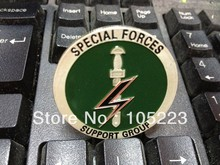 100pcs/lot DHL free shipping New arrived Special Forces Support Group/Parachute Regiment / Royal Marines challenge Coins(China)