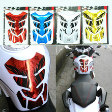 2016 New Chrome Red Motorcycle Gas Tank Pad Sticker Protector for Honda CB400 CBR250/CBR400 Yamaha YZF-R1/R6 FZ-1 FZ6