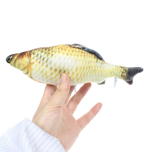 21CM Simulation Carp Plush Toy Doll Lifelike Golden Fish Toy Fish Stuffed Dolls Gift for Children