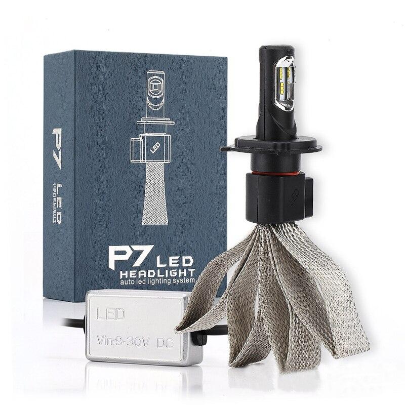 Car LED Headlight  H7 Bulbs 4800lm Bulb  LED Headlights<br><br>Aliexpress