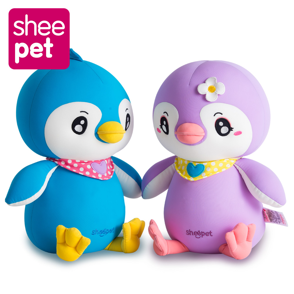 Anti-stress Particles Filled Plush Toys Penguin Doll Cute Birthday Best Gift to Kids Soft Toy 44cm Sheepet Toys<br>